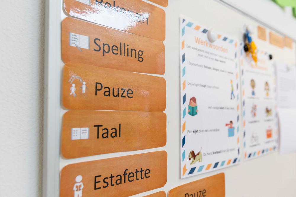 Informatie school lestijden